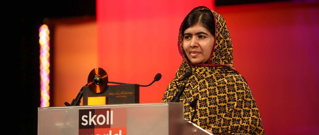 "Malala Yousafzai: ""Education Is Mightier than Guns"""