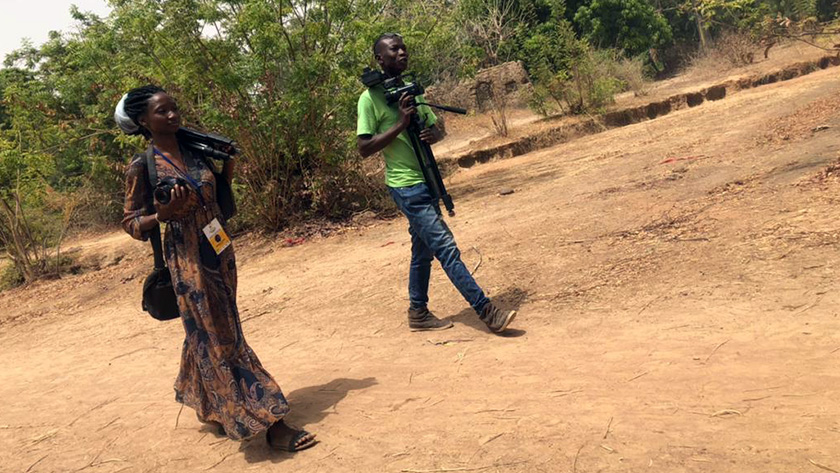 Madeleine Dembélé is a budding women filmmaker working with Accountability Lab Mali. She's producing a short film pushing for greater gender equity in Koutiala.