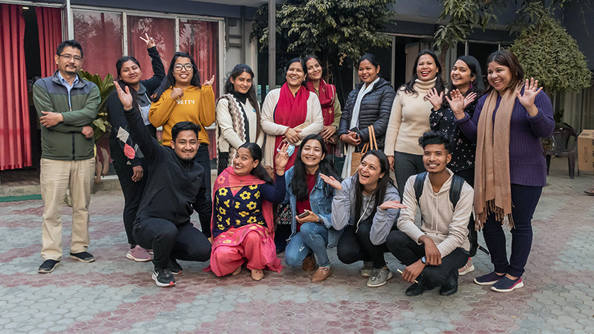Program Manager Ashmita Sharma and Program and Learning Manager Soni Khanal at Accountability Lab Nepal facilitated community dialogues in Dhanghadi, collecting real-time feedback and advocating for gender-sensitive policies in the sub-metropolitan region.